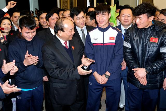 Thủ tướng khen việc tổ chức lễ đón U23 Việt Nam