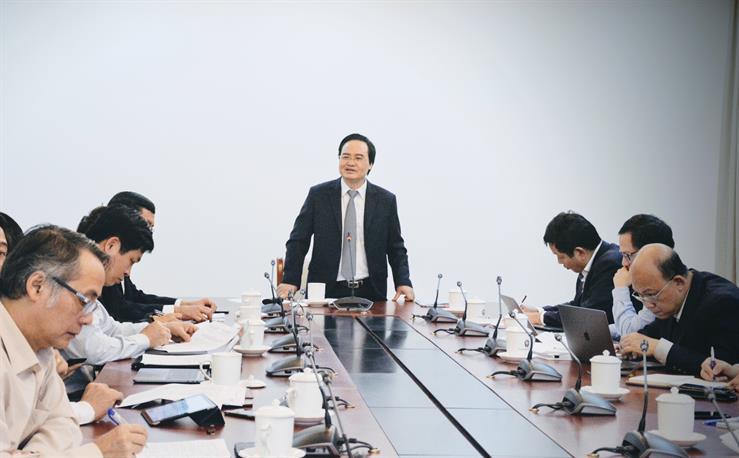 Ban chỉ đạo về Chính phủ điện tử Bộ GD&ĐT họp lần thứ nhất